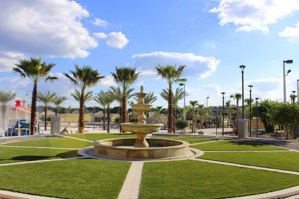 ForeverLawn installation in Kissimmee, Florida